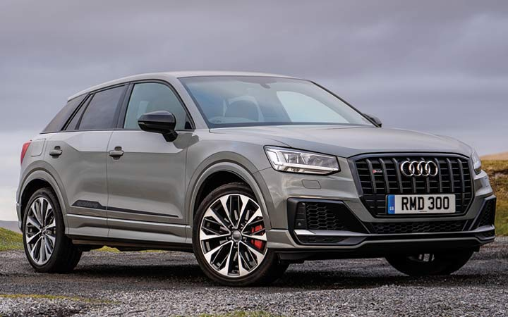 Audi SQ2 2019-2020 года