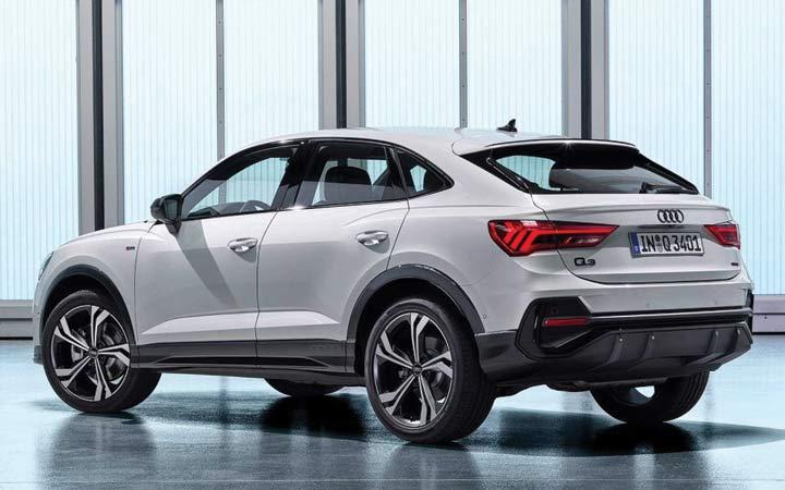 Экстерьер Audi Q3 Sportback 2019-2020 года