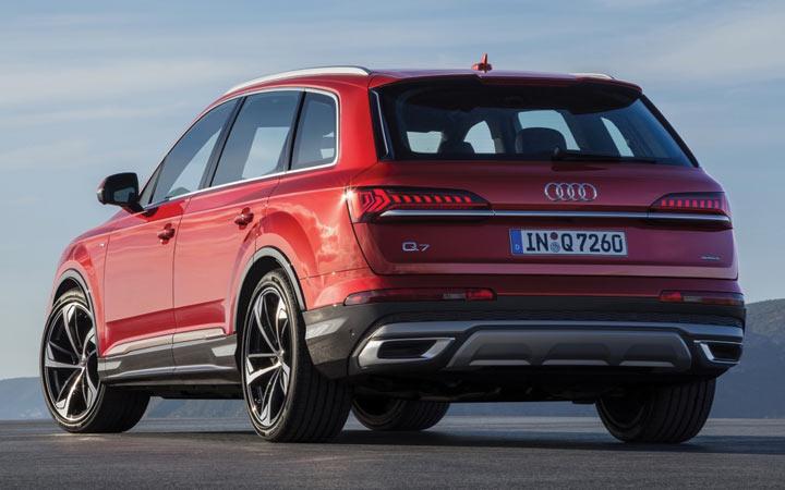 Экстерьер Audi Q7 2019-2020 года
