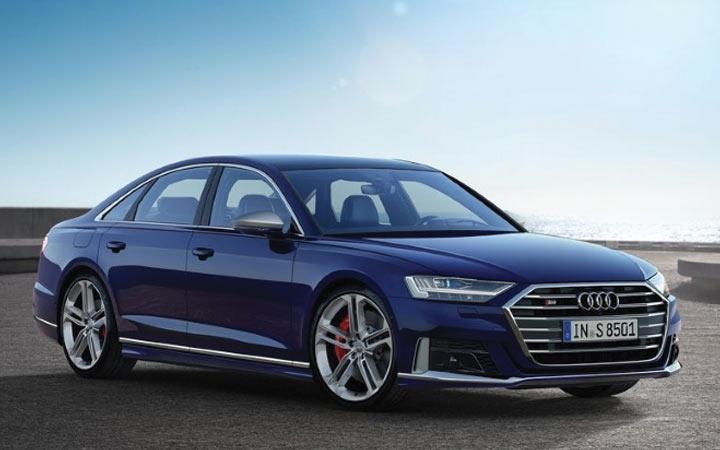 Audi S8 2019-2020 года