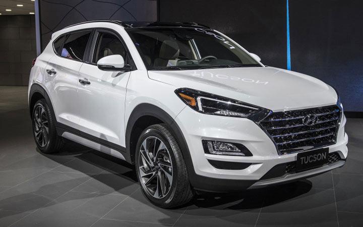 Новые автомобили 2020 года Hyundai Tucson