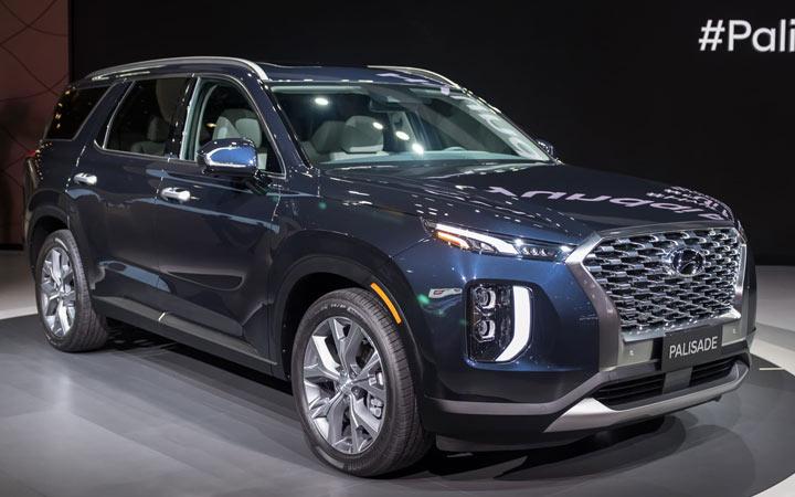 Новые автомобили 2020 года Hyundai Palisade