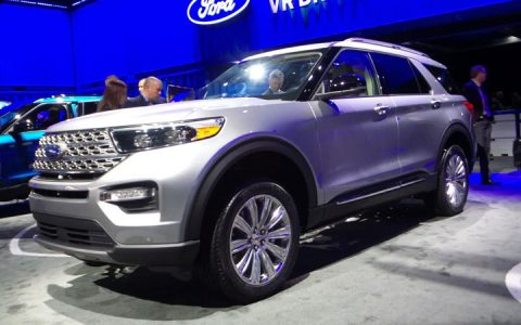 Ford Explorer 2020 и другие новинки