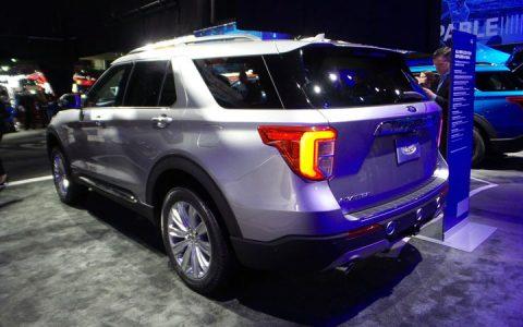 Автоновинки 2020 года Ford Explorer