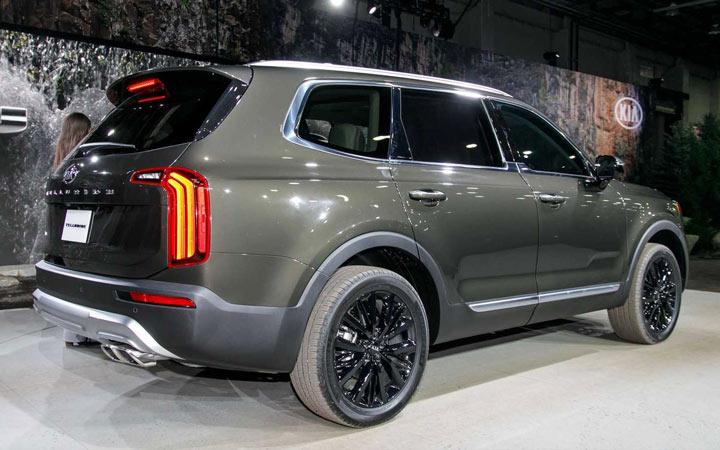 Новые модели автомобилей 2020 года KiaTelluride