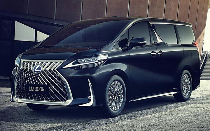 Новинки авто 2020 года минивэн Lexus LM