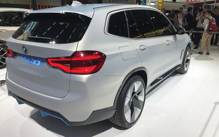 Экстерьер BMW iX3 2019-2020 года