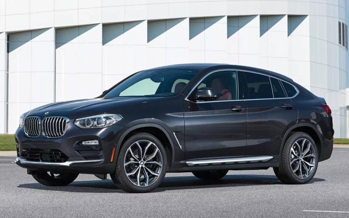 Экстерьер BMW X4M 2019-2020 года