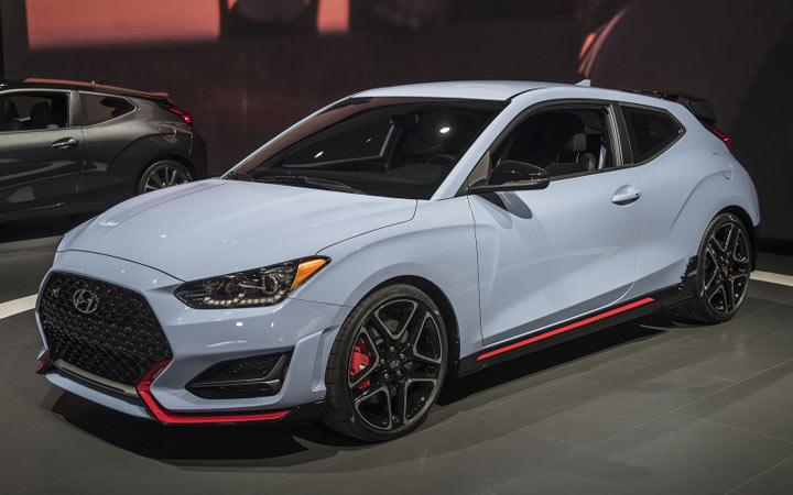 Новый Hyundai Veloster 2019-2020