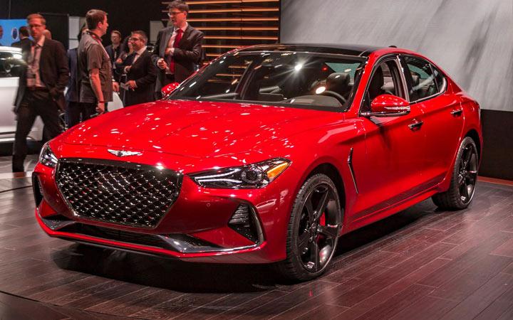 Экстерьер Hyundai Genesis G70 2019-2020
