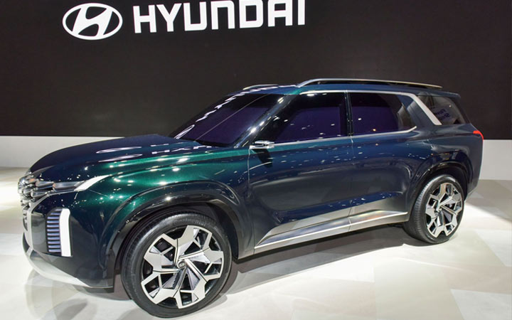 Экстерьер Hyundai Palisade 2019-2020
