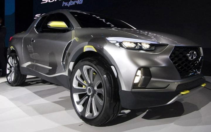 Экстерьер Hyundai Santa Cruz 2019-2020