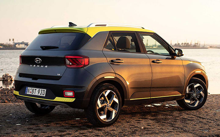 Новый Hyundai Venue 2020-2021 года