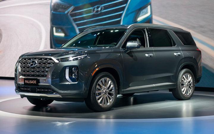 Hyundai Palisade 2020-2021 года