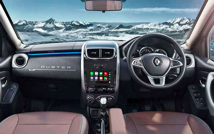 Интерьер Renault Duster 2020-2021