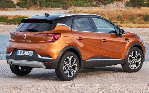 Экстерьер Renault Captur 2020-2021