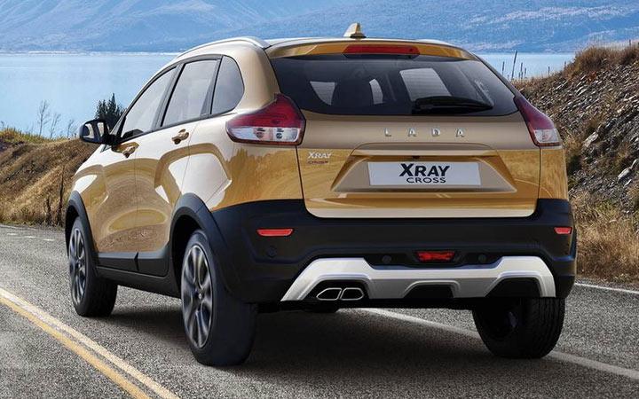 Экстерьер Lada Xray Cross 2020-2021