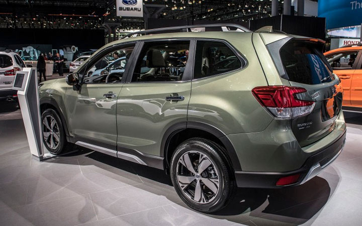 Экстерьер Subaru Forester 2019-2020 года