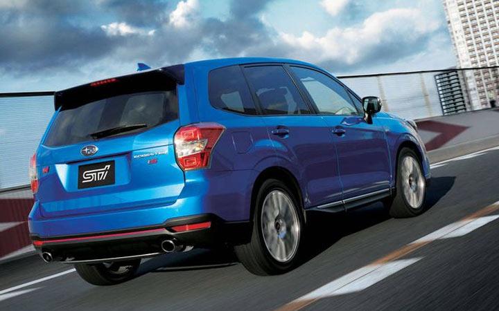 Экстерьер Subaru Forester STI 2019-2020 года