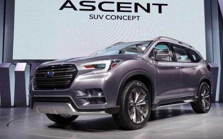 Экстерьер Subaru Ascent 2019-2020 года