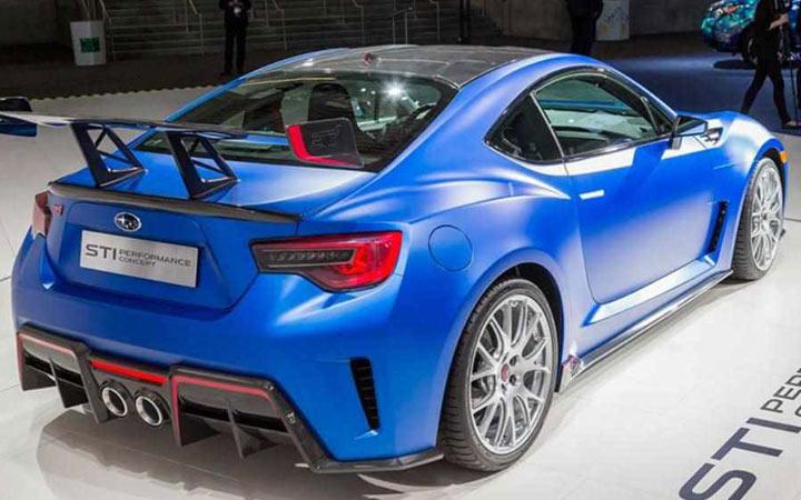 Представлен новый Subaru BRZ 2019-2020 года