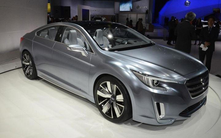 Экстерьер Subaru Legacy 2019-2020 года