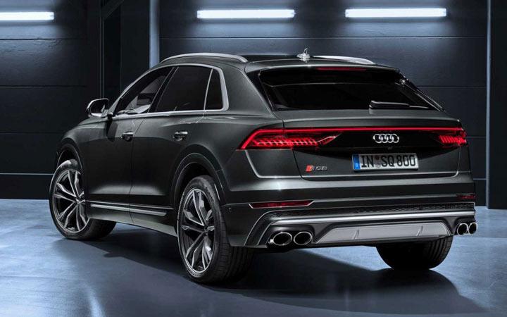 Экстерьер Audi SQ8 2020-2021 года