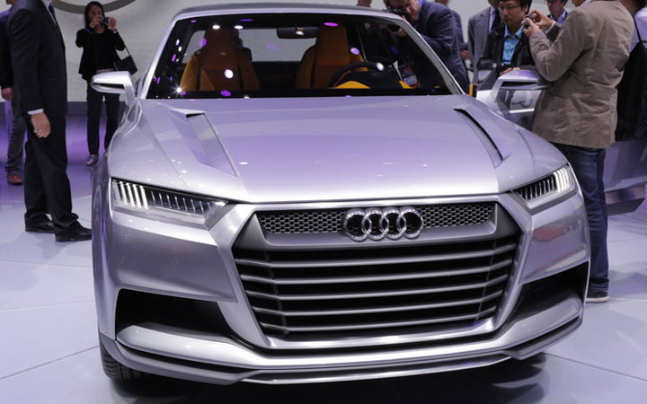Audi Q9 2020-2021 года
