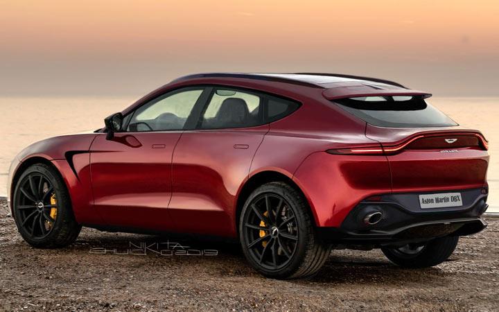 Экстерьер Aston Martin DBX 2020-2021