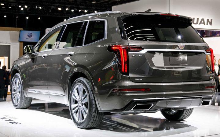 Внедорожник Cadillac ХТ6 2020-2021