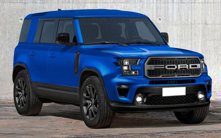 Внедорожник Ford Baby Bronco 2020-2021