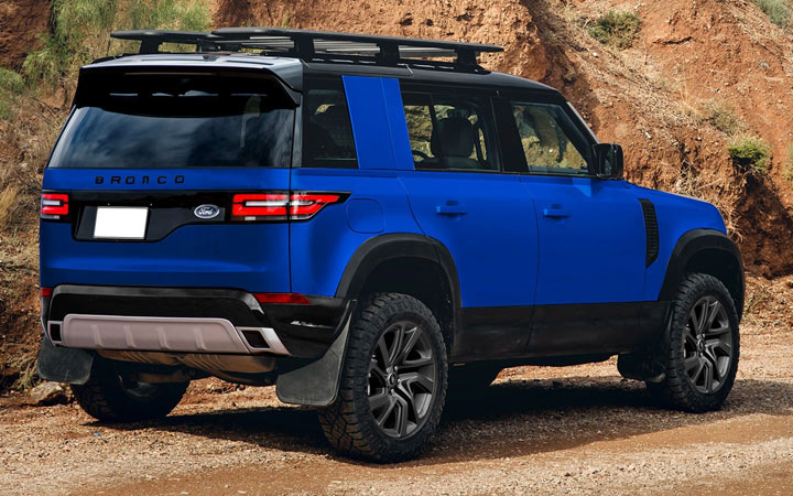 Экстерьер Ford Baby Bronco 2020-2021