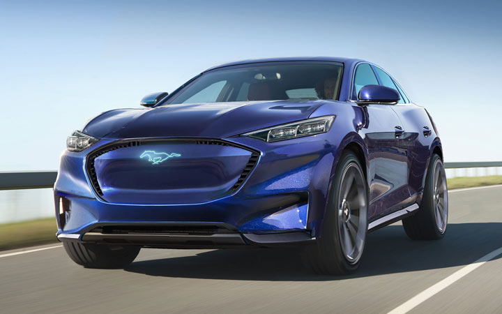 Ford Mustang Mach-E 2020-2021