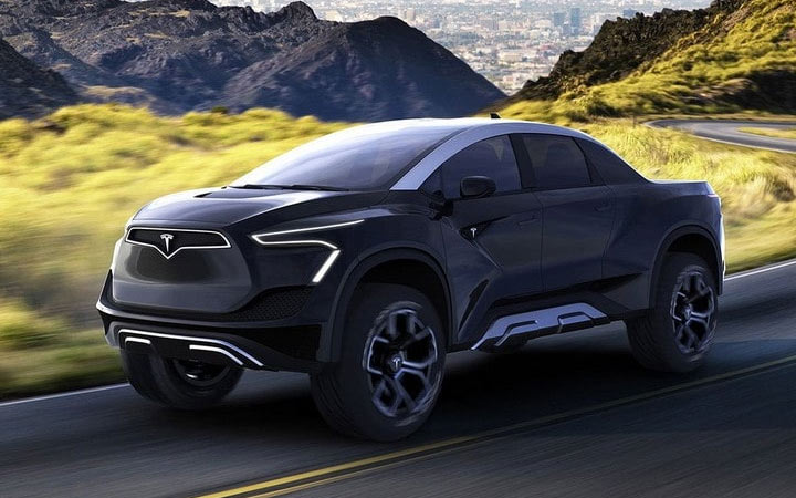 Tesla Picap (Cyber Truck) 2020-2021