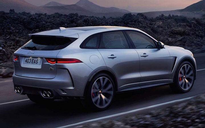 Jaguar J-Pace 2020-2021