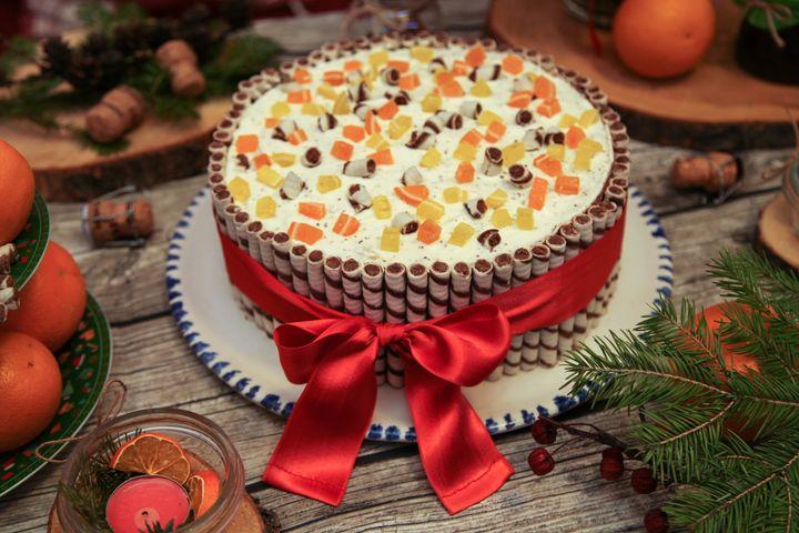 Торт «Зефирный рай»