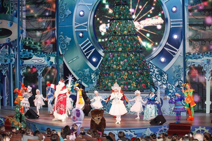 Новогодняя елка в мэрии