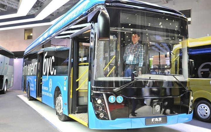 Электробус компании ГАЗ 2020-2021 года