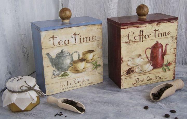 Набор чая и кофе