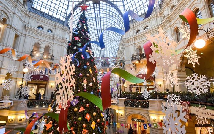 Погода и развлечения в Москве на Новый Год 2020