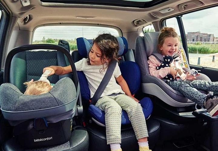 Перевозка детей в авто