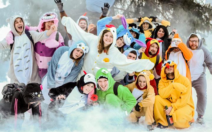 Вечеринка кенгуруми на Новый Год 2020