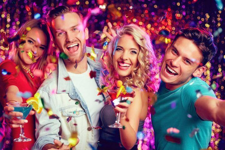 Друзья на вечеринке