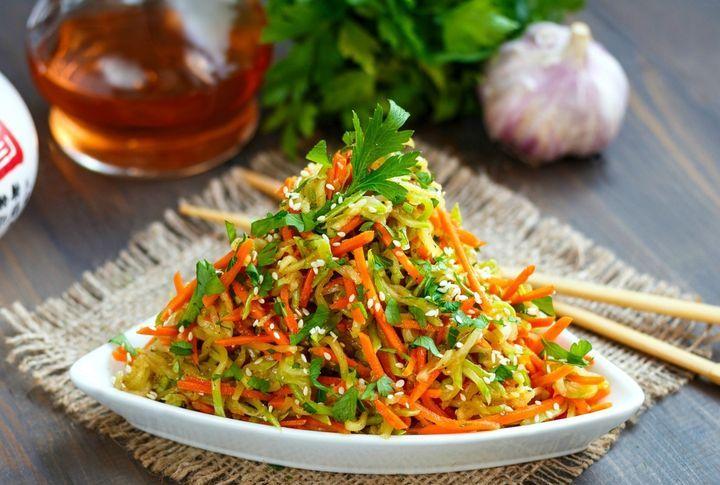 Овощи по-корейски