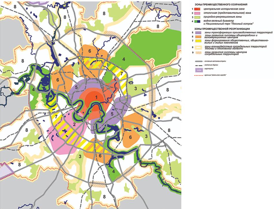 Расширение Москвы: новые границы и карта на 2021 год