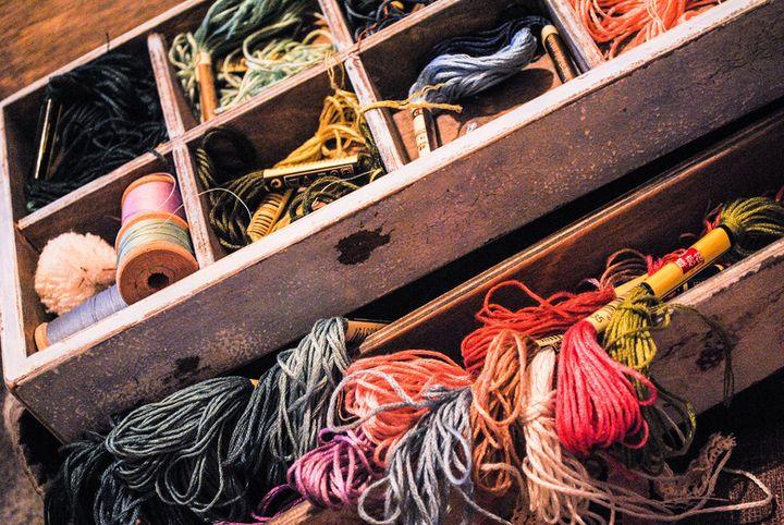 Нитки для вышивки