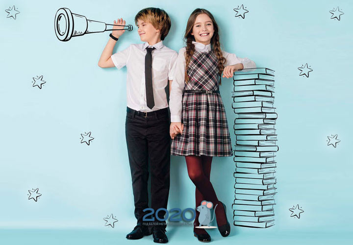 Базовый гардероб в школу для девочки и мальчика на 2020 год