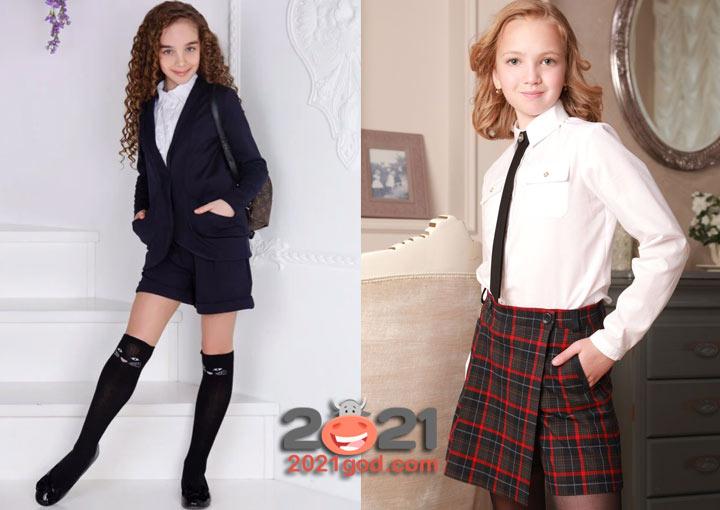 Модные шорты для школы - тренд 2020-2021 учебного года