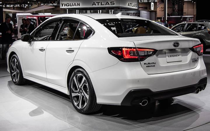 Subaru Legacy 7 поколения 2020 года