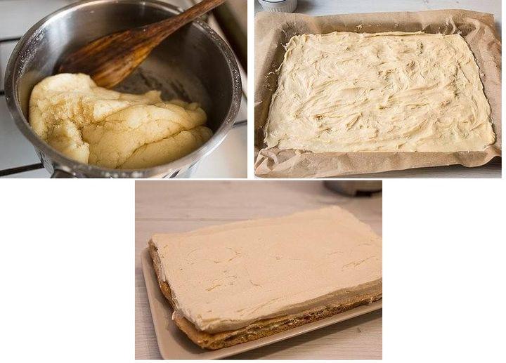 Приготовление торта Карпатка